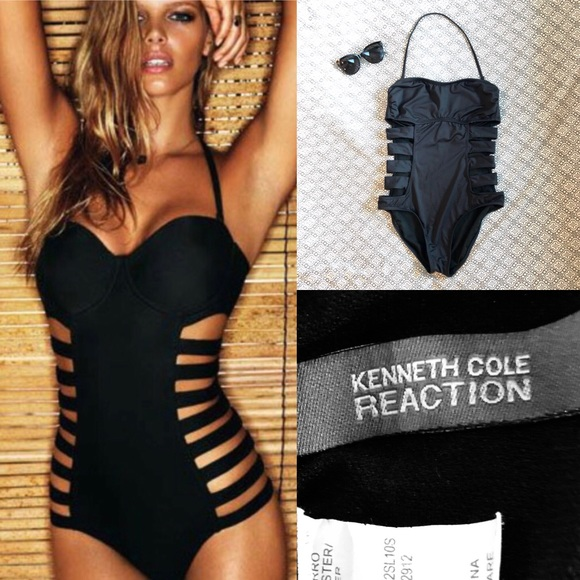 db529b981e7 Kenneth Cole Reaction Other - Black Kenneth Cole One Piece CUT OUT Swimsuit  M